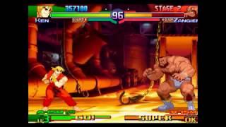 Street Fighter Alpha 3 - World Tour Mode [Part 1]
