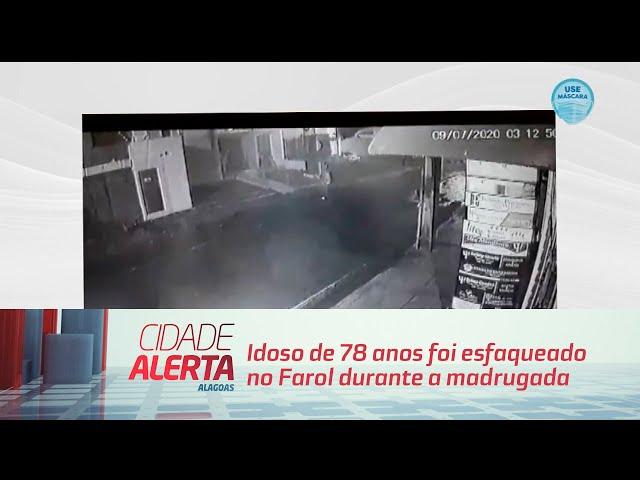 Idoso de 78 anos foi esfaqueado no Farol durante a madrugada