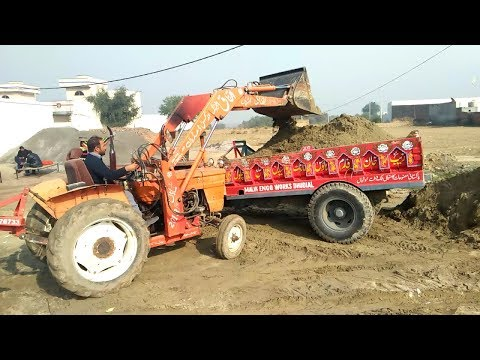 Fiat 480 Tractor Power I Fiat Tractor 480 working in punjab Pakistan