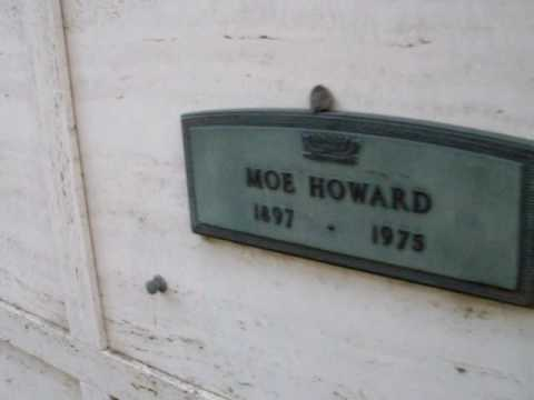 Moe Howard's Grave.