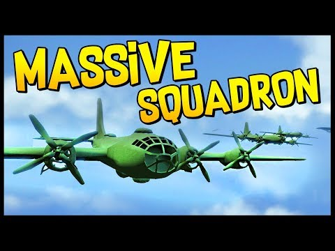 MASSIVE NUCLEAR B29 SQUADRON! America Superpower! USA Gameplay - Total Tank Simulator Gameplay