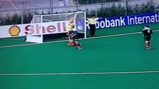 Wales Hockey v Spain 1999, GK save