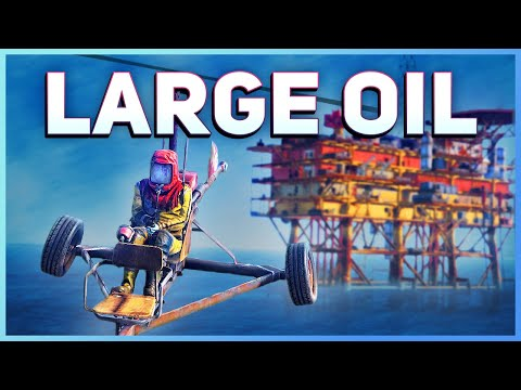Large Oil Rig Guide   Rust Tutorial