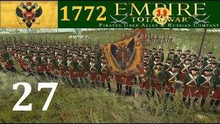 Россия 1772 #27 Empire Total War Pirates Uber Alles max