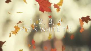1, 2, 3, 4 - Plain White T's (Speed Up) Mp3
