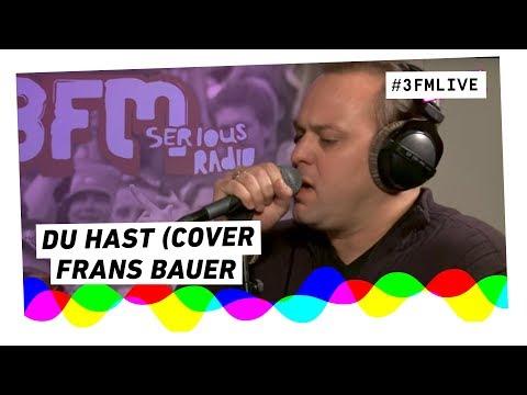 Frans Bauer - Du Hast (Rammstein cover) | 3FM Live