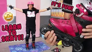 How to Rollerblade for Beginners screenshot 4