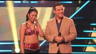 Yo Soy: 'Selena' se quebró al recibir una sorpresa desde Bolivia