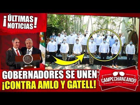 ¡ÚLTIMAS NOTICIAS! GOBERNADORES SE OPONEN A AMLO Y AL DOCTOR HUGO