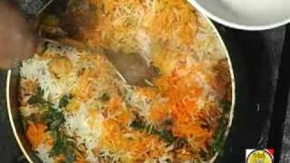 Vegetable Parda Biryani - By Vahchef @ Vahrehvah.com