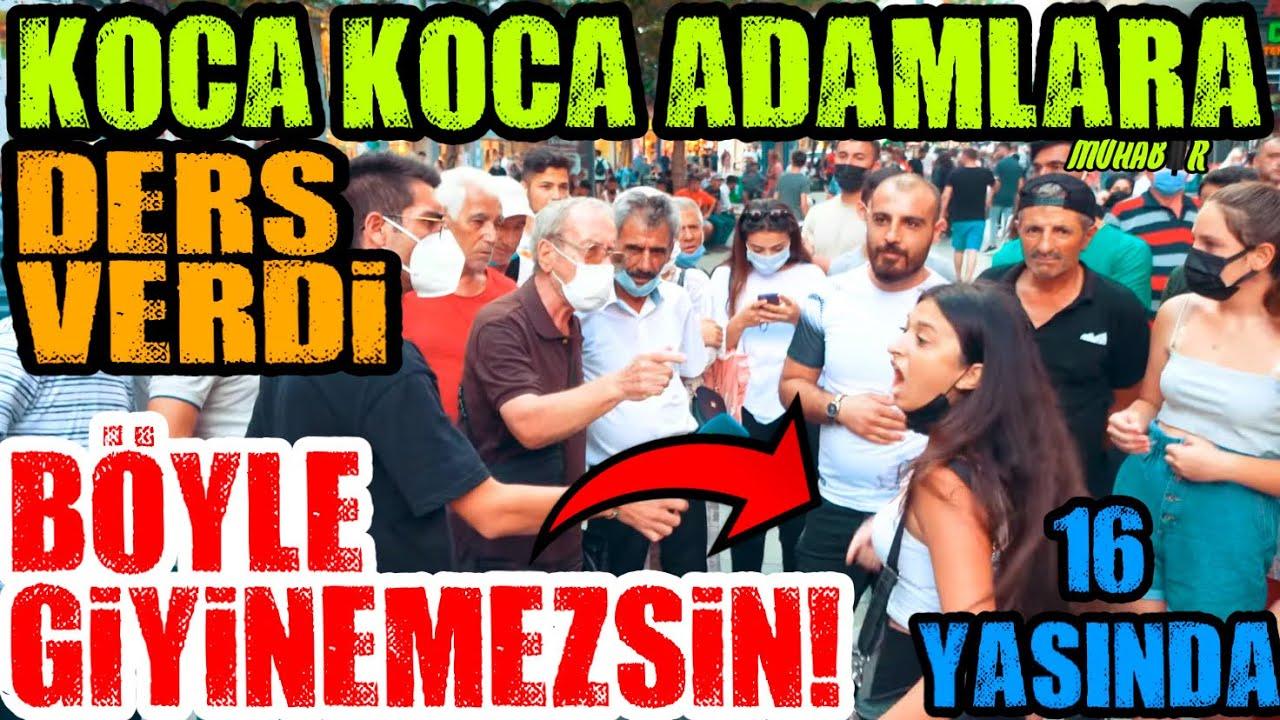 """""""BANA SESİNİ YÜKSELTME!"""" 16 Yaşındaki Kız Koca Koca Adamlara Ders Verdi!"""