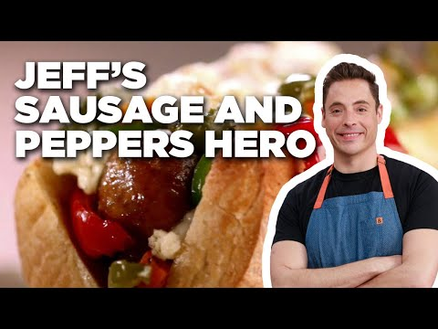 How to Make Jeff's Sausage and Peppers Hero | Food Network