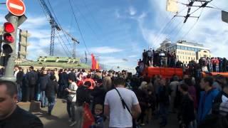 Попытка посмотреть парад 9 мая 2015