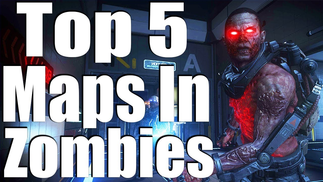TOP 5 ZOMBIES MAPS THAT TREYARCH DIDN\'T MAKE!