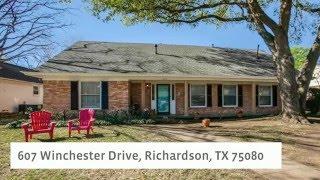 607 Winchester Drive, Richardson, TX 75080