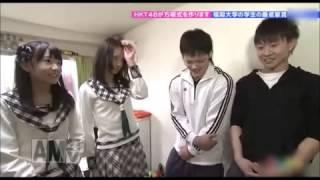 【放送事故】HKT48 森保まどか 宮脇咲良 エロ本見つけてドン引き