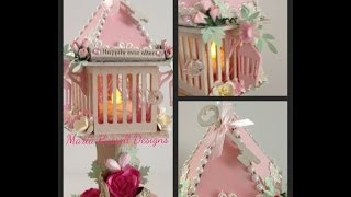 Shabby Chic ~ Enchanted Birdhouse (inspired By The Movie Ever After)