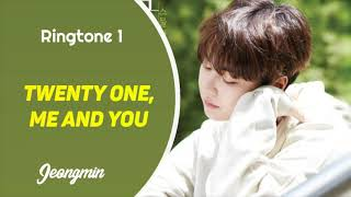 JEONGMIN - TWENTY ONE, ME AND YOU (RINGTONE) | DOWNLOAD