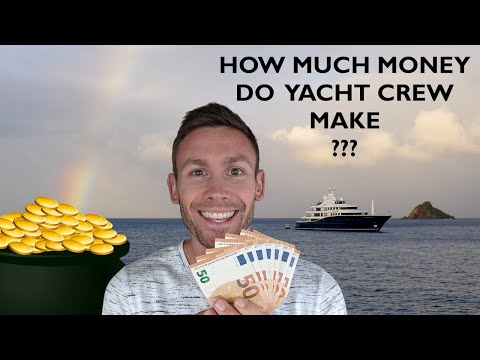 How Much Money Do Yacht Crew Make AND I Reveal My Yacht Crew Salary For My Entire Super Yacht Career