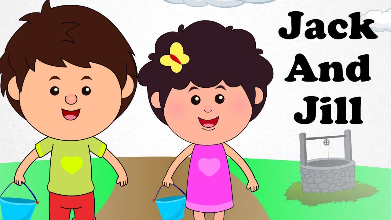 Jack and Jill  Engilsh Kids Nursery Rhymes  Cartoon