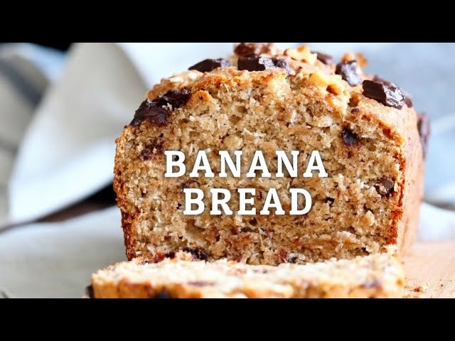 VEGAN BANANA BREAD WITH TOASTED WALNUTS AND COCONUT – 1 BOWL | Vegan Richa Recipes