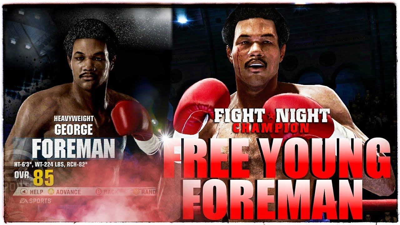 nowy wygląd wylot online wylot HOW TO GET LEGENDARY YOUNG GEORGE FOREMAN 🥊FREE IN FIGHT NIGHT CHAMPION in  2018 😱 Xbox One 4KHD!