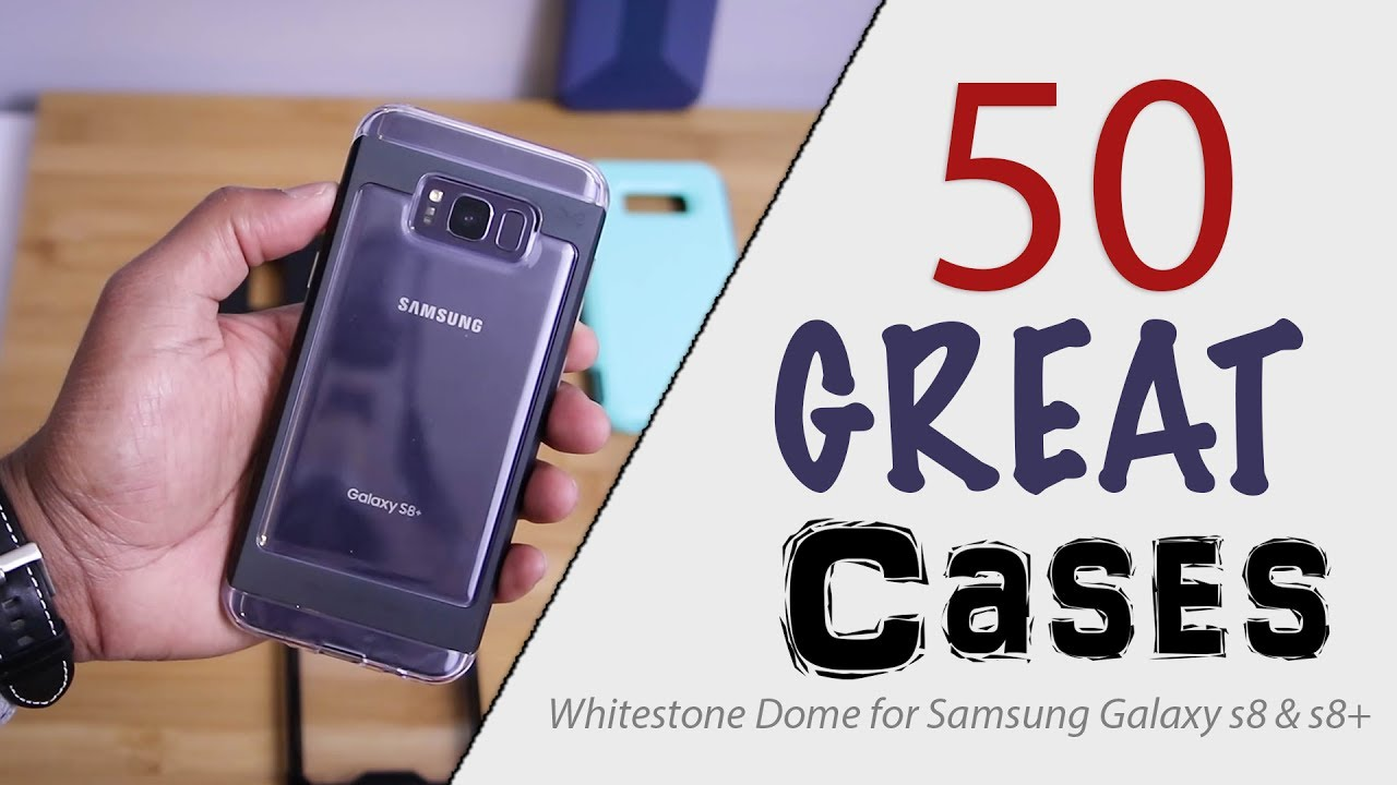 50 Cases For Whitestone Dome Screen Protector Galaxy S8 And Goospery Samsung S9 New Bumper X Case Black Giveaway Closed