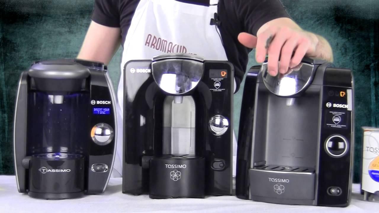 Bosch Tassimo Coffee Maker Reviews : Bosch Tassimo T65 vs T55 vs T47 - Exclusive Comparison & Review - YouTube