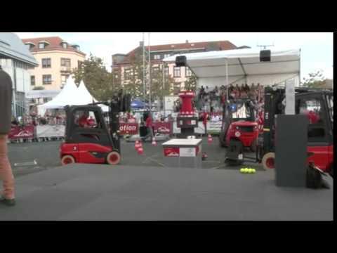 Erster Weltmeister im Staplerfahren kommt aus Deutschland