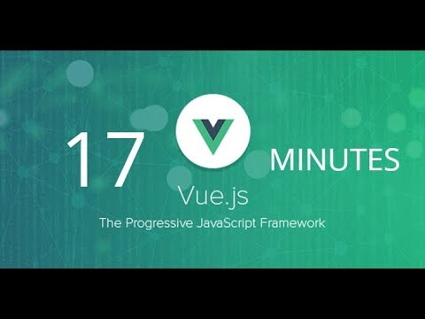 Vue JS in 17 minutes thumbnail