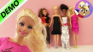 BARBIE Fashion Show | Barbie at mga kaibigan - sinusukat ang kanilang mga bagong damit | Estilo