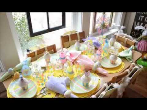Davetlerde en k sofra d zeni nas l kurulmal youtube - Easter table decorations meals special ...