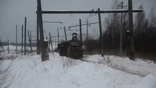 Работа УЖД в Иваново, электровоз К7. Часть 3
