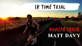 5k Time Trial // Road to Free Dinner