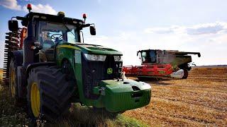 🇵🇱Żniwa na wielką skalę ! 2019 (Big Harvest) Claas Lexion 770 2x John Deere Valtra Fendt🇵🇱