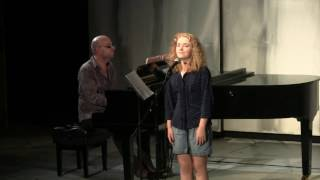 "Annika Horne sings ""Shy"" from Once Upon a Mattress"