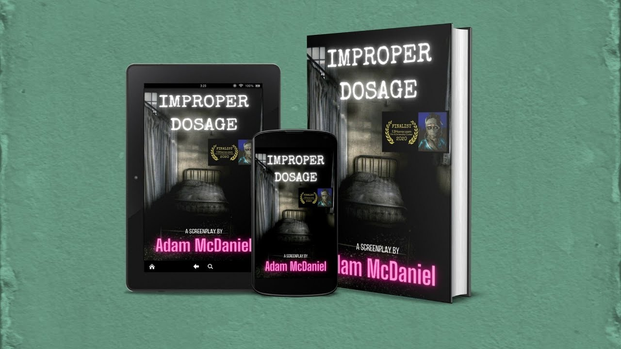 """IMPROPER DOSAGE"" promo from 13HORROR.com"