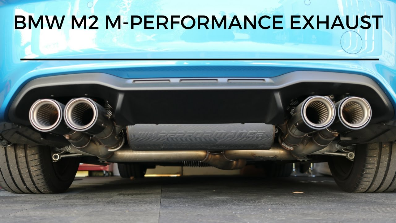bmw m2 m performance exhaust detail review is it worth. Black Bedroom Furniture Sets. Home Design Ideas