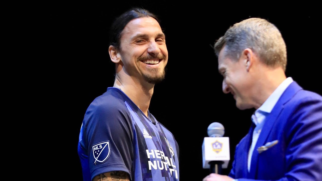 best loved f15e7 afcba Quick Hit Q&A with Zlatan Ibrahimović | 2019 LA Galaxy Jersey Launch Party