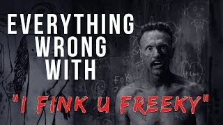 "Everything Wrong With Die Antwoord - ""I Fink U Freeky"""