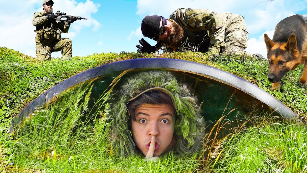 Download I Challenged an Actual SWAT Team to Camo Hide and Seek!