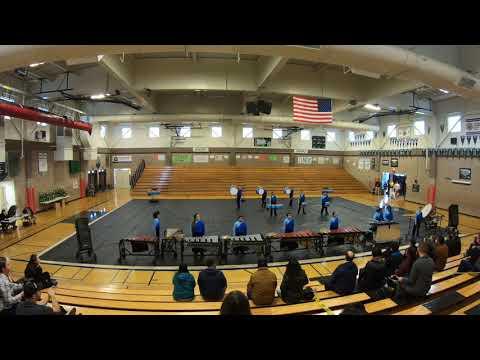John Swett HS Winter Drumline 2019 @ Rodriguez Review