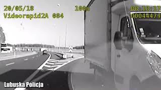 """""""Bo nawigacja go tak poprowadziła"""" - nieodpowiedzialny kierowca jechał """"pod prąd"""" drogą S3"""