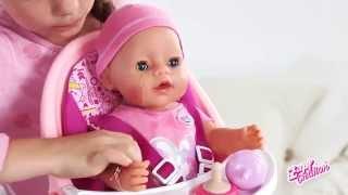 Кукла Беби Бон (Baby Born) с аксессуарами(КУПИТЬ Куклу Беби Бон - http://babadu.ru/store/product/4261248/?bba_aid=13927490 Детские куклы и аксессуары к ним ..., 2014-11-12T10:57:36.000Z)