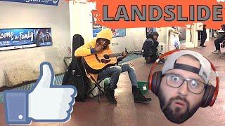 "Metalhead reacts to subway performance of FLEETWOOD MAC-""Landslide"""