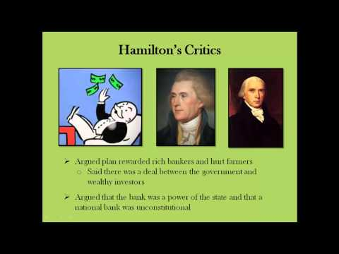History with Hampson #9: The Federalist Era