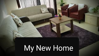 My New Home tour | flat shifting| Home tour