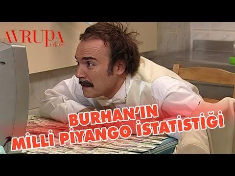 Burhan'ın Milli Piyango İstatistiği - Avrupa Yakası