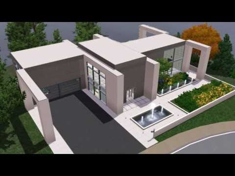 Ultra modern house plans sims 3 House plans