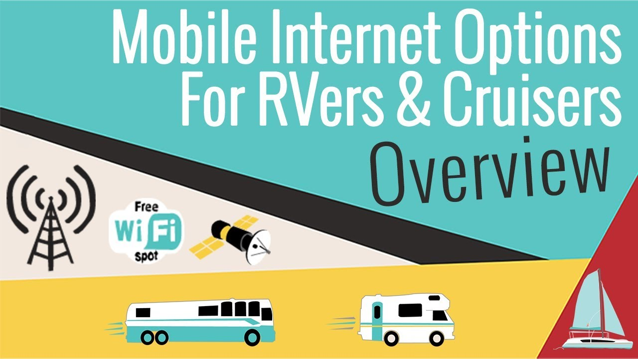 Mobile Internet Options for RVers and Cruisers - Cellular, Wi-Fi &  Satellite (2018 Current Edition)